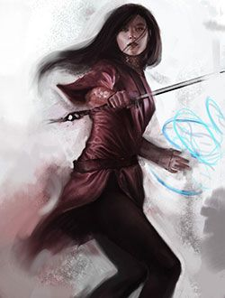 Lirael - final cover rough illustration