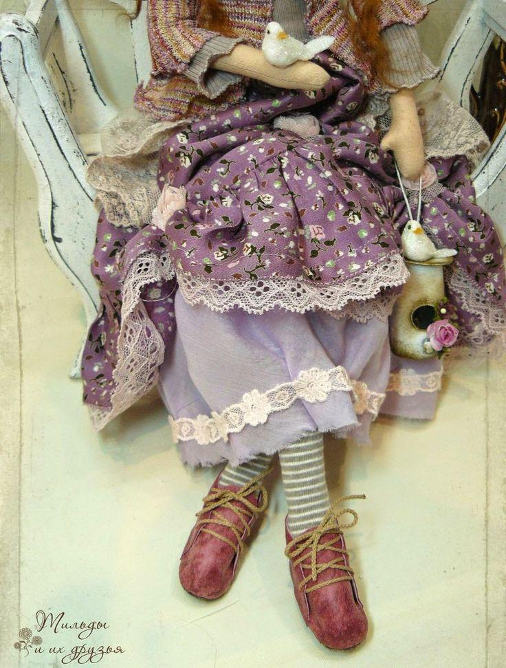 Ангелы игрушки тильды