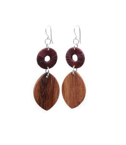 Turning Leaf Burgundy   Indigo Heart - Fair Trade Fashion A$18.50