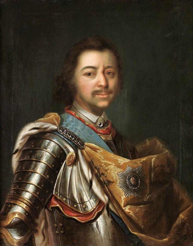 Kupecký - Petrus I. Russorum Imperator. Peter the Great, Tsar of Russia