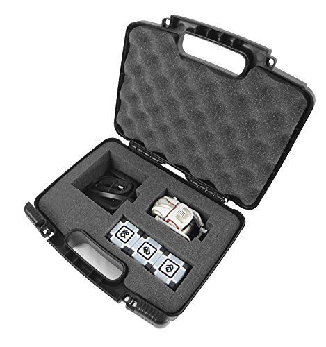 ROBOT Box Case Made To Carry And Travel With COZMO Robot Kids Electronic Remote Smart Robot , Charger and Power Cubes - Protect And Keep Your Cozmo Safely Organized