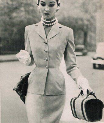 sacony suit 1952