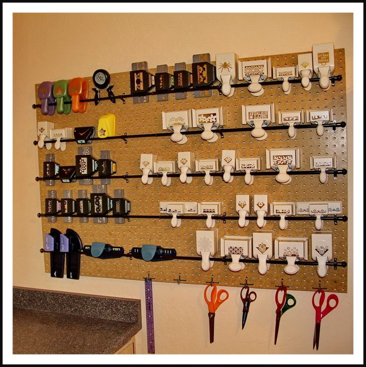 84 best images about organization ideas on pinterest for Craft punch storage ideas