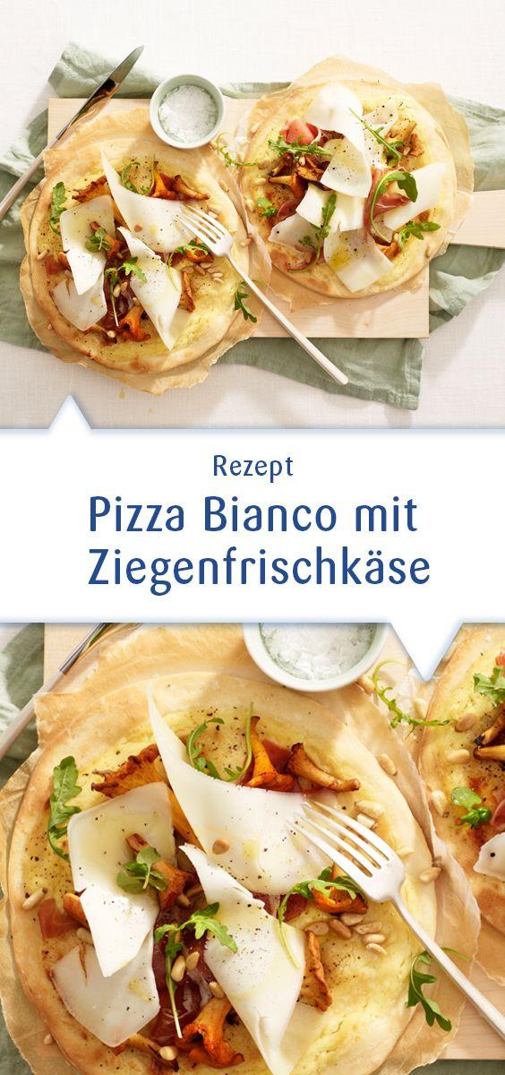 Es gibt unendlich viele Varianten, eine Pizza zu belegen. Probieren Sie einmal diese Version einer weißen Pizza mit Ziegenkäse! Dieses Rezept und mehr Ideen unter http://www.snofrisk.de/rezepte.php