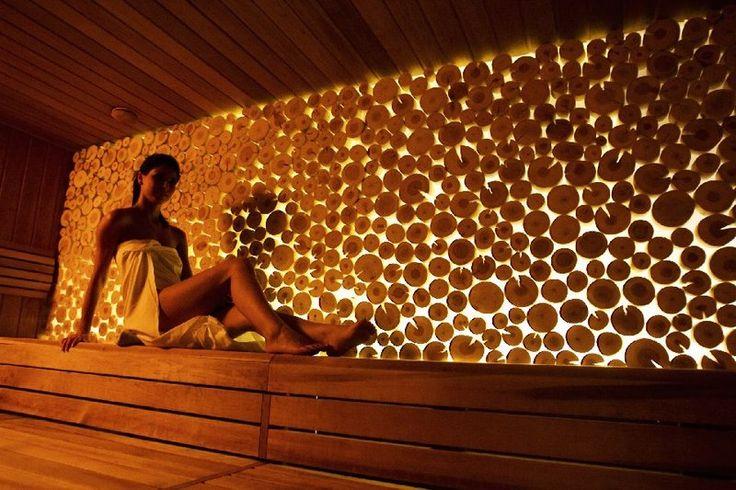 finnish sauna, infrared sauna, sanarium, steam room, salt chamber, adventure and massage showers, ice fountain, tepidarium, relaxation area ...