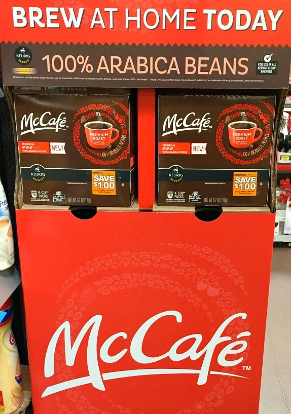 New!  McCafe Coffee Pods are now available at Walmart.  I featured the pods in a Coffee Lover's gift basket for my son. #McCafeMyWay #Ad