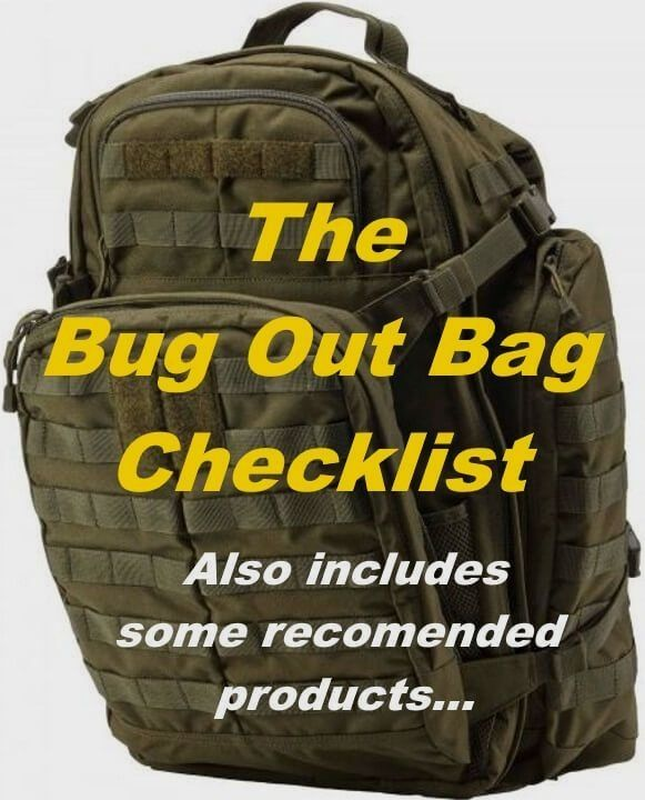 Bug Out Weapons Bag : The ultimate bug out bag list prepping pinterest