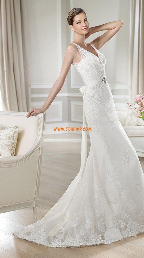Glamorous & Dramatic Summer Zipper Wedding Dresses 2014