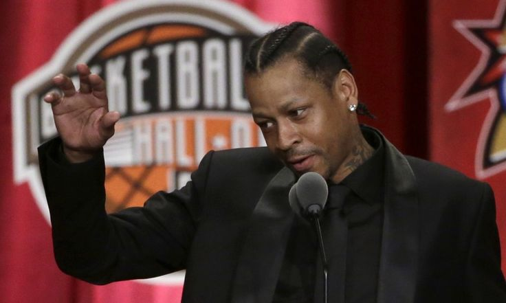 Allen Iverson: Forever a Hall of Famer and himself = Many things change in this life, some for the better and some for the worse. One person that will never change, though, is Allen Ezail Iverson. So it's only fitting that the last couple days of Hall-of-Fame activities perfectly.....