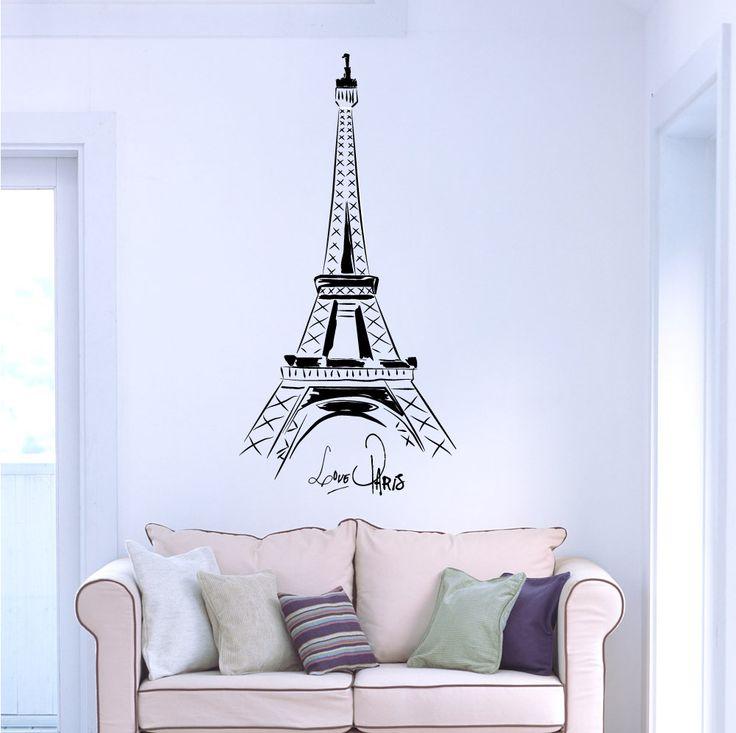 Eiffelova věž Umělecky vykreslená Eiffelova věž s nápisem. Paříž je matka evropské módy. Paříž je město kultury a vína. Paříž má zkrátka nezaměnitelný a osobitý styl. A co je nejznámějším symbolem tohoto města? Ano, právě Eiffelova věž, která v sobě snoubí prvky moderní architektury a klasickou francouzskou eleganci. Samolepka je vhodná pro všechny ...