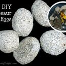Do-It-Yourself (DIY) Dinosaur Eggs (or rocks if you don't want to shape ...