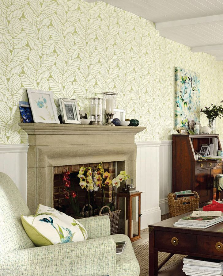 Laura Ashley Kitchen Wallpaper: Laura Ashley Palm House Collection #lauraashleyhome