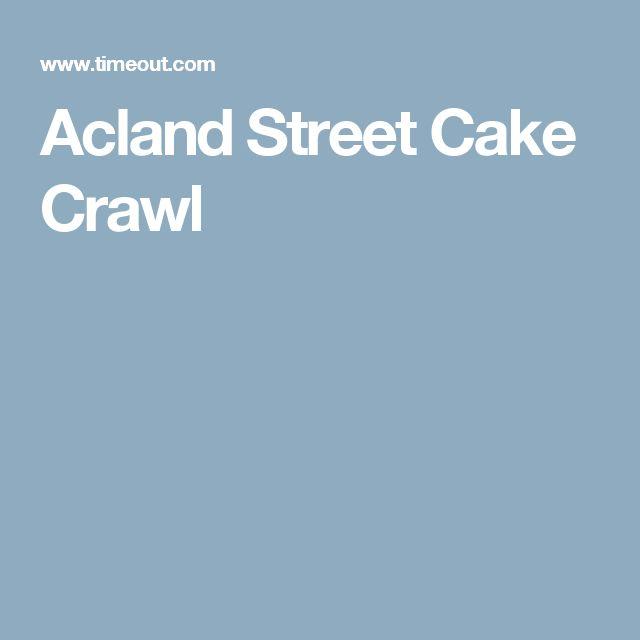 Acland Street Cake Crawl