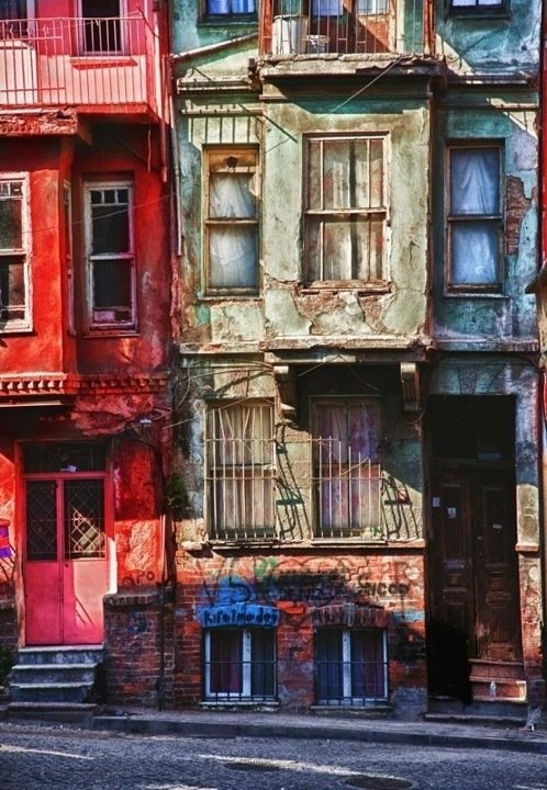Balat / Istanbul ESKİ CUMBALI EVLER