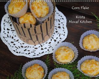 KRISTA MOCAF KITCHEN: Mocaf Corn Flakes Cookies