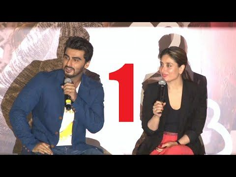 UNCUT Ki and Ka movie trailer launch | Kareena Kapoor, Arjun Kapoor | PART 1