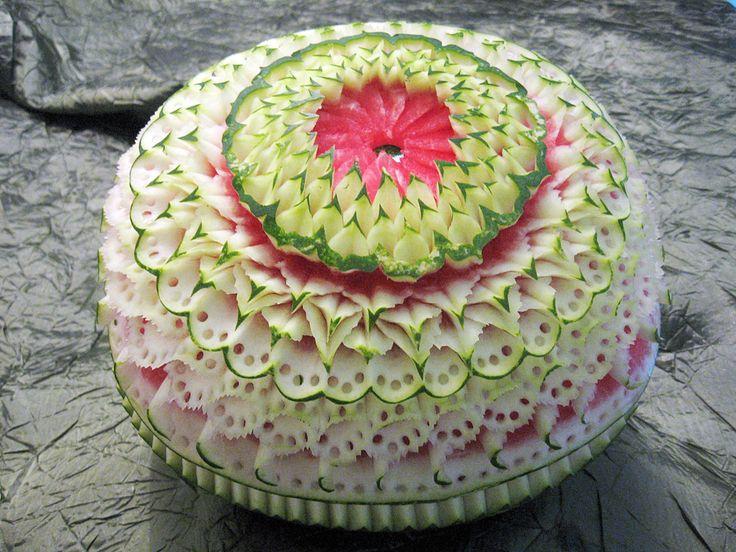 Fruit carving party idea pinterest