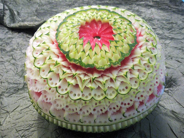 Best images about fruit carving on pinterest atelier