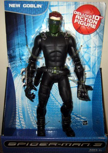 10 Inch New Goblin (Spider-Man 3) Deluxe Action Figure @ niftywarehouse.com #NiftyWarehouse #Spiderman #Marvel #ComicBooks #TheAvengers #Avengers #Comics
