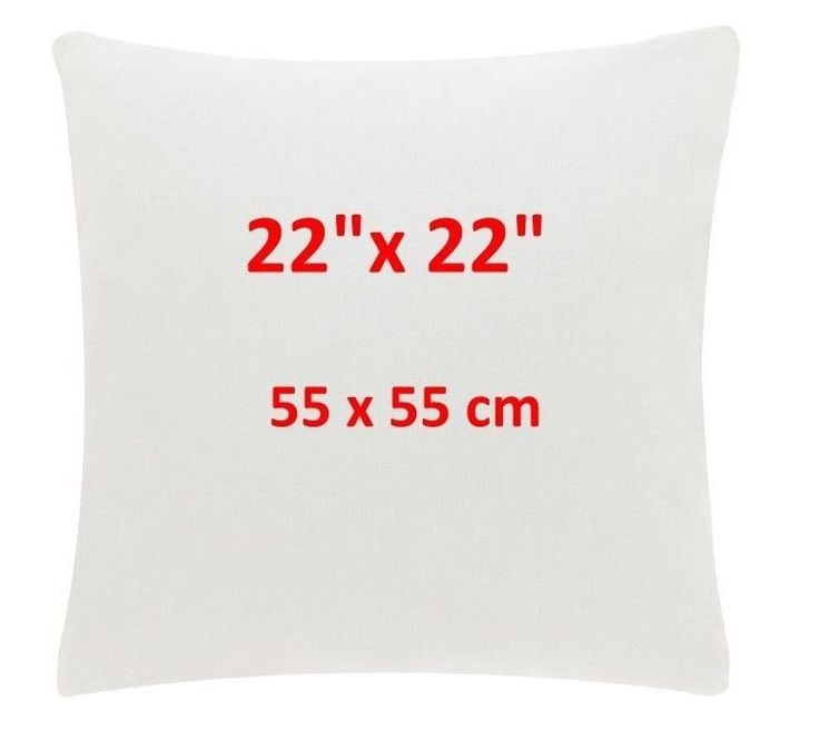 """6 PACK of- 22"""" Inch Luxury Cushions Sofa Pads  Inners 30% off  RRP  22""""x 22"""""""