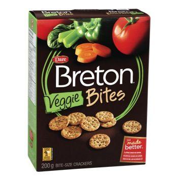 Veggie Bites Breton Crackers