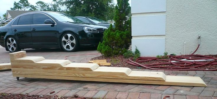 DIY: Build your own low profile car ramp - VW GTI Forum / VW Rabbit Forum / VW R32 Forum / VW Golf Forum - Golfmkv.com