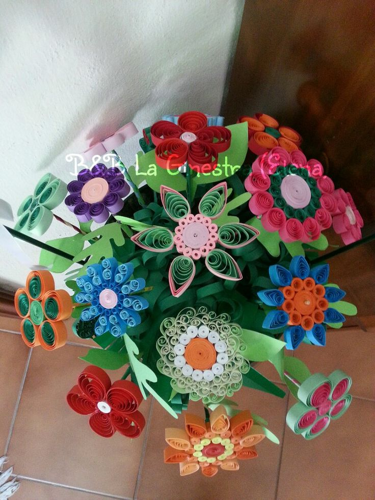 #quilling #flowers #handmade