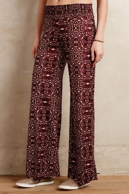 Tiled Palazzo Pants - anthropologie.com #anthrofave