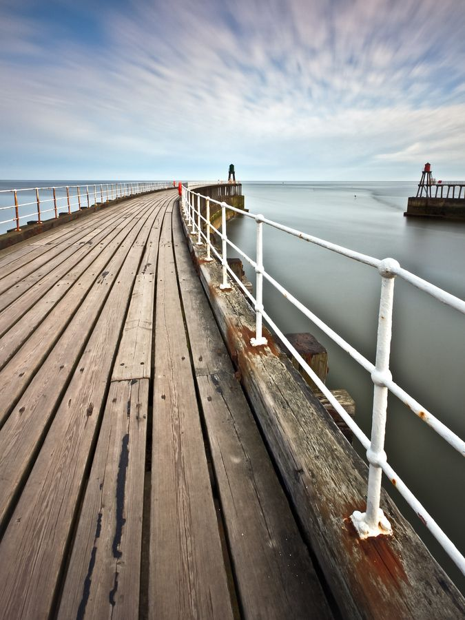 Whitby Piers by Michael James Combe on 500px