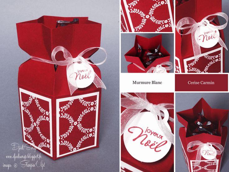 Djudi'Scrap: Tutoriel Boîte en Etoile et Promotion sur l'Insta'Enveloppe
