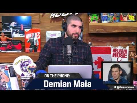 Demian Maia Confident He Could Sell More PPVs Than Stephen Thompson