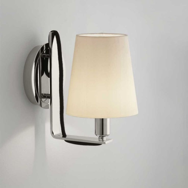 Krems wall light alongside bristol flat mirror 965 8 1 4