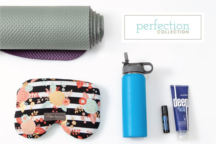 Perfection Collection Yoga Gift Bundle with DoTerra Deep Blue