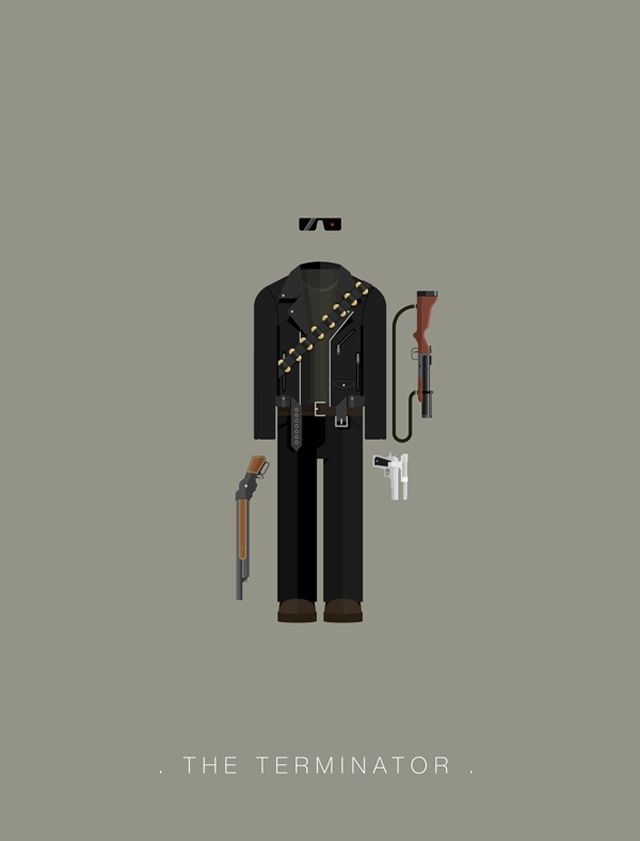 The Terminator - Famous Costumes | #terminator