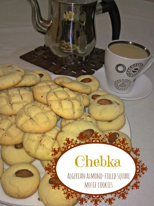 Algerian almond filled cookies