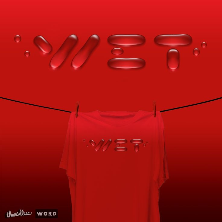 Vote for me - Wet t-shirt