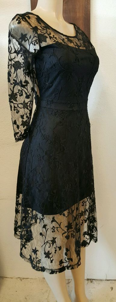 Just me black wedding lace dress,Summer,beach,Vegas Small,prom, cocktail #justme #WigglePencil #Cocktail