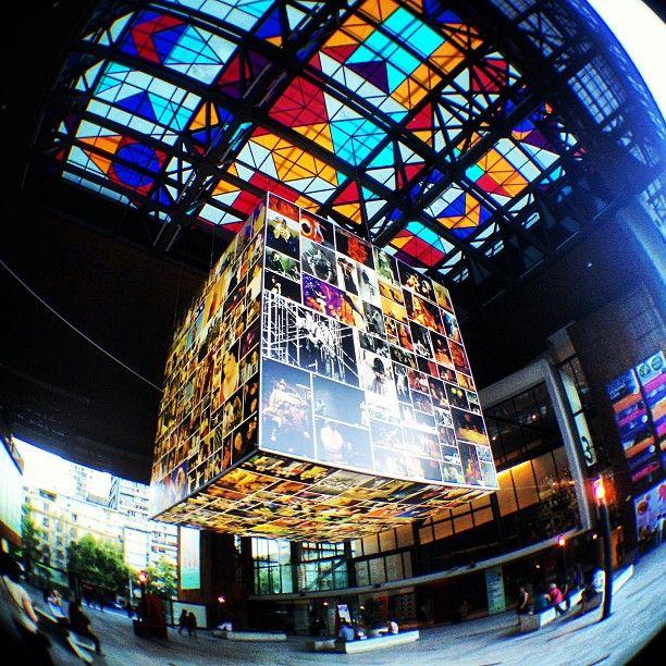Centro Gabriela Mistral en Santiago de Chile, Metropolitana de Santiago de Chile
