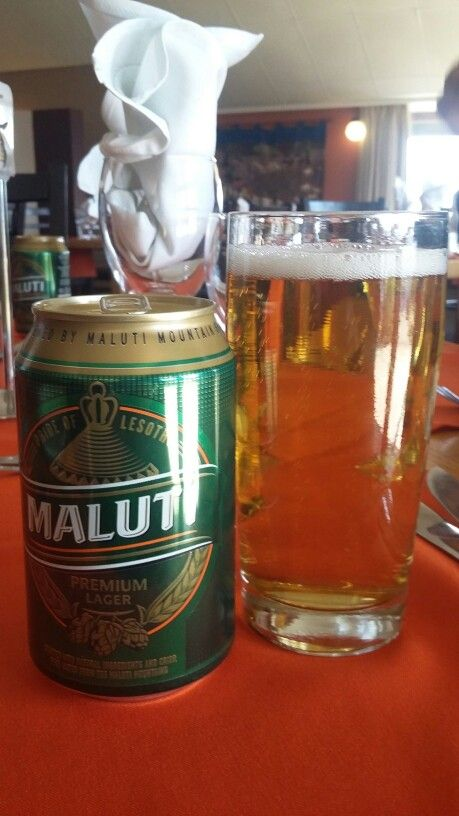 Maluti beer. Locally brewed Lesotho.