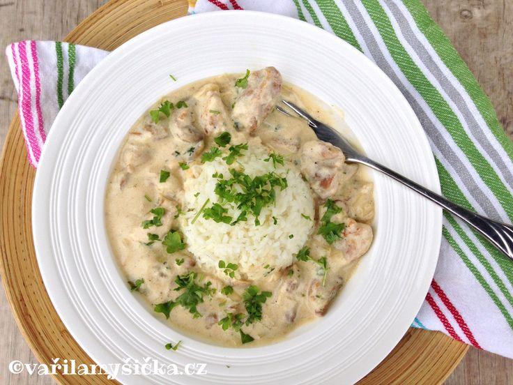 Dopřát si k obědu maso s omáčkou a rýží nemusí znamenat dvouhodinové vaření. Do 30 minut máte na stole ...