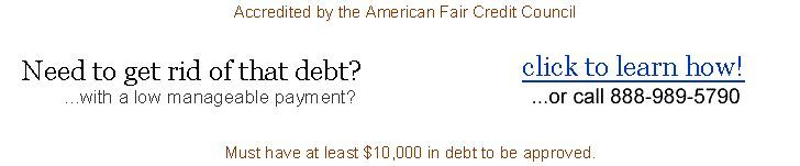 $30000 $40000 $50000 Bad Credit Loan for Debt Consolidation  Keith A.