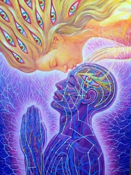 The Third Eye Kiss can be an uplifting experience. Kiss the centre of a person's forehead with thoughts of compassion for that person. It activates the pineal and pituitary glands giving the receiver a sense of security and wellbeing. #beherenow #oneness #raisevibration #innerpower #courage #highermind #powerthoughtsmeditationclub