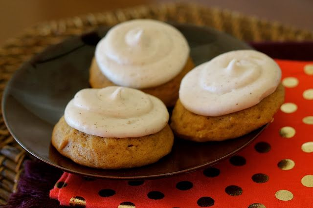 Pumpkin Cookies with Brown Butter Frosting a D'Amico and Son's Copyca...