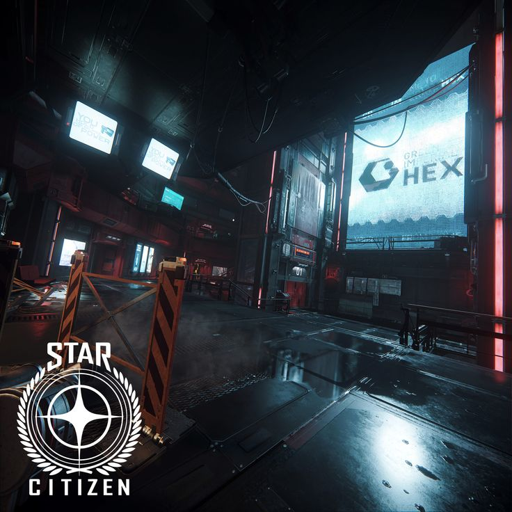 Star Citizen - Grim Hex Main Hub Lighting, Ashley McKenzie on ArtStation at https://www.artstation.com/artwork/GqDx1