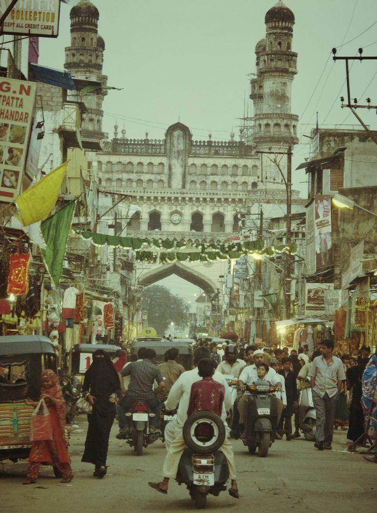 Hyderabad, India. only sweet memories. city of nizams. Charminar. love. food. hyderabadi byriani. kundan bagh. weird autorick's