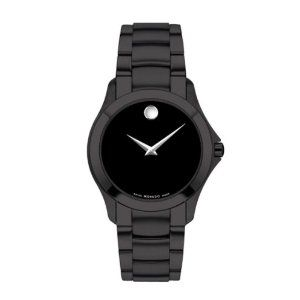 Movado Men's Masino Swiss Movement Black PVD Black Dial Watch 0606486: Amazon.ca: Watches