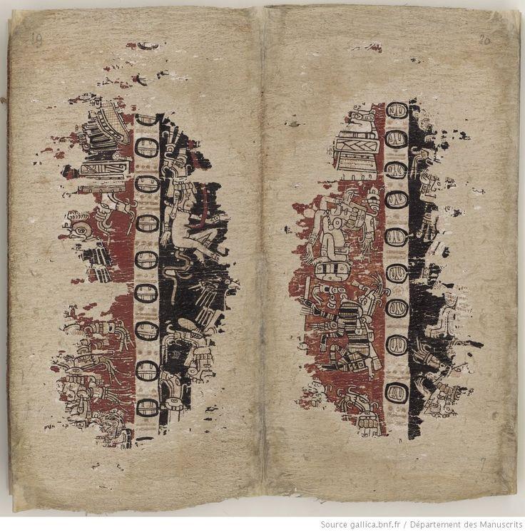 Codice di Parigi o Codex Peresianus, contiene profezie ed uno zodiaco Maya, ed è quindi similare ai libri di Chilam Balam. Il codice apparve la prima volta nel 1832, come acquisto della Bibliothèque Impériale francese  (in seguito diventata Bibliothèque nationale de France) a Parigi. | Gallica