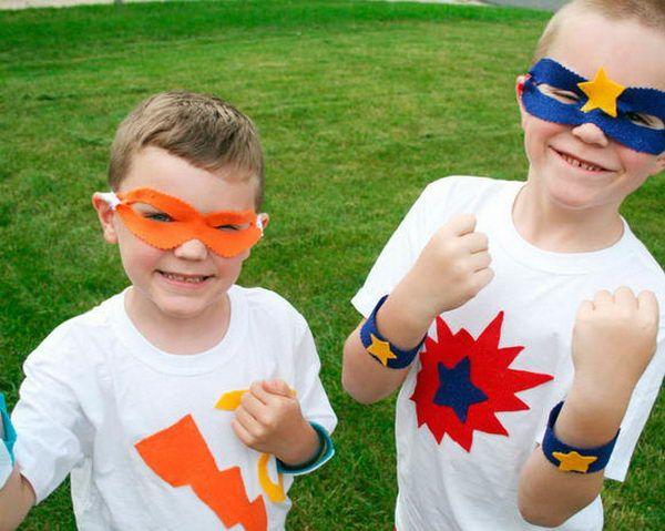 19 superhero costumes kid