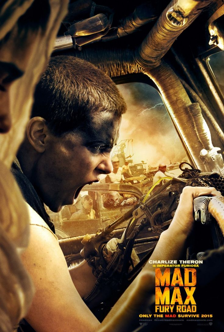 Charlize Theron as Imperator Furiosa - Mad Max: Thunder Road