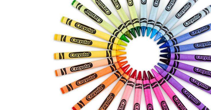 Happy National Color Day! From Crayola Crayons Crayola